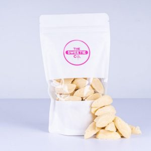 White Chocolate Mice Sweet Pouch Online Delivery Shop