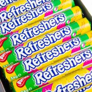 Box of Barratt Refreshers