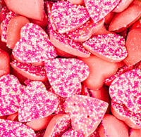 Pink Chocolate Hearts Build Your Own Pick and Mix Sweet Box Selection