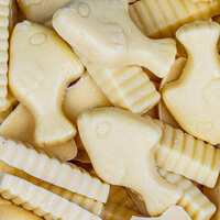 White Chocolate Fish & Chips Build Your Own Pick and Mix Sweet Box Selection