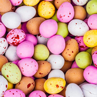 Vegetarian Chocolate Speckled Eggs Build Your Own Pick and Mix Sweet Box Selection