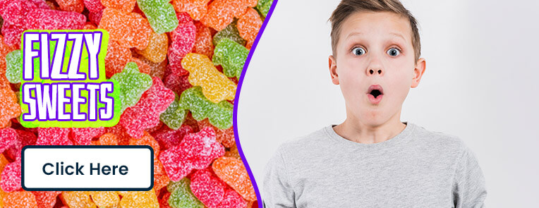 Fizzy and sour sweets delivered to your door