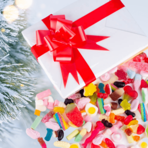 1kg Christmas Wrapped Pick & Mix