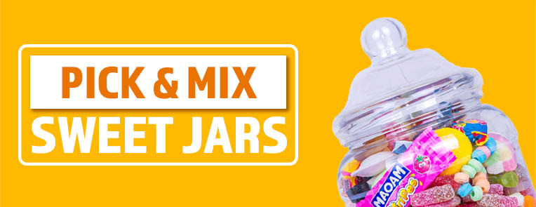 Pick and mix sweet jars delivery